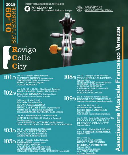 Locandina RCC 2018